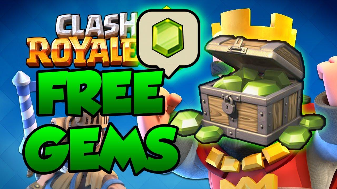 free clash gems 2017