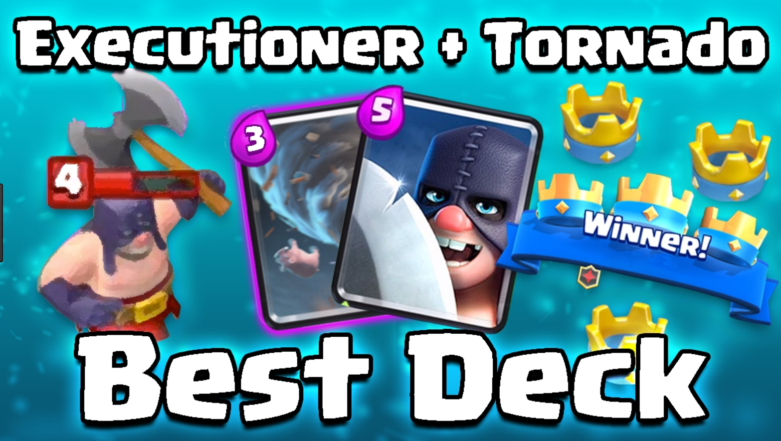 clash of clans executioner deck