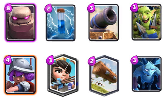 Clash Royale Deck Arena 10