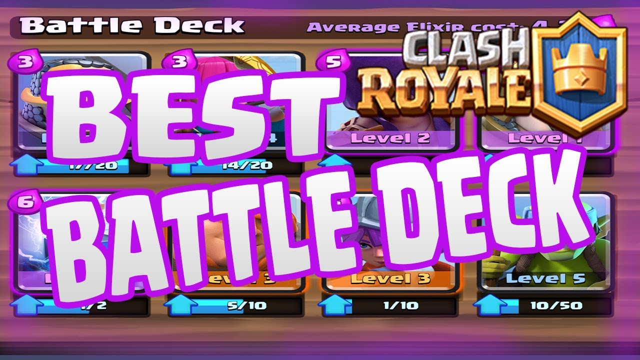 best decks for clash royale