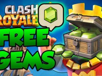 clash royale free gems